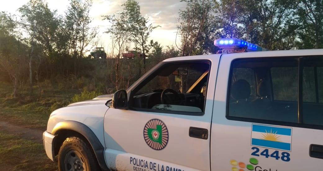 Encontraron el auto que fue sustraído cerca de Quehué: Lo hallaron en la Ruta 13, a 20 kilómetros de la Ruta 143