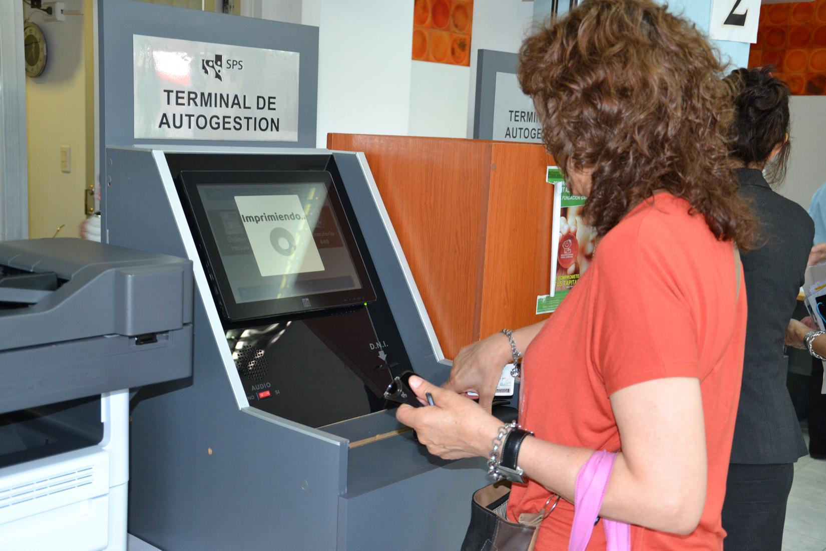 Se relanzaron las Terminales de Autogestión del Servicio de Previsión Social