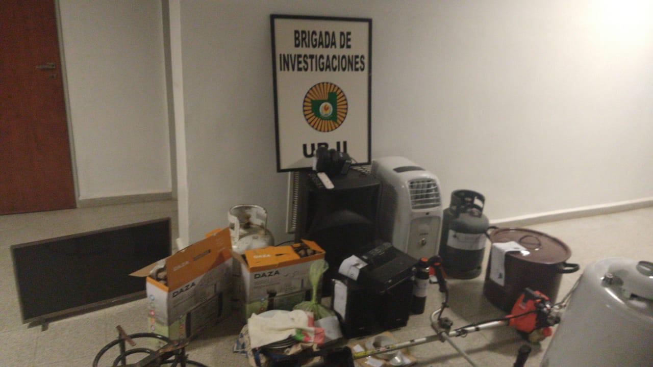 Robo en un predio rural a 10 km de General Pico: Una persona detenida y varios allanamientos en la ciudad
