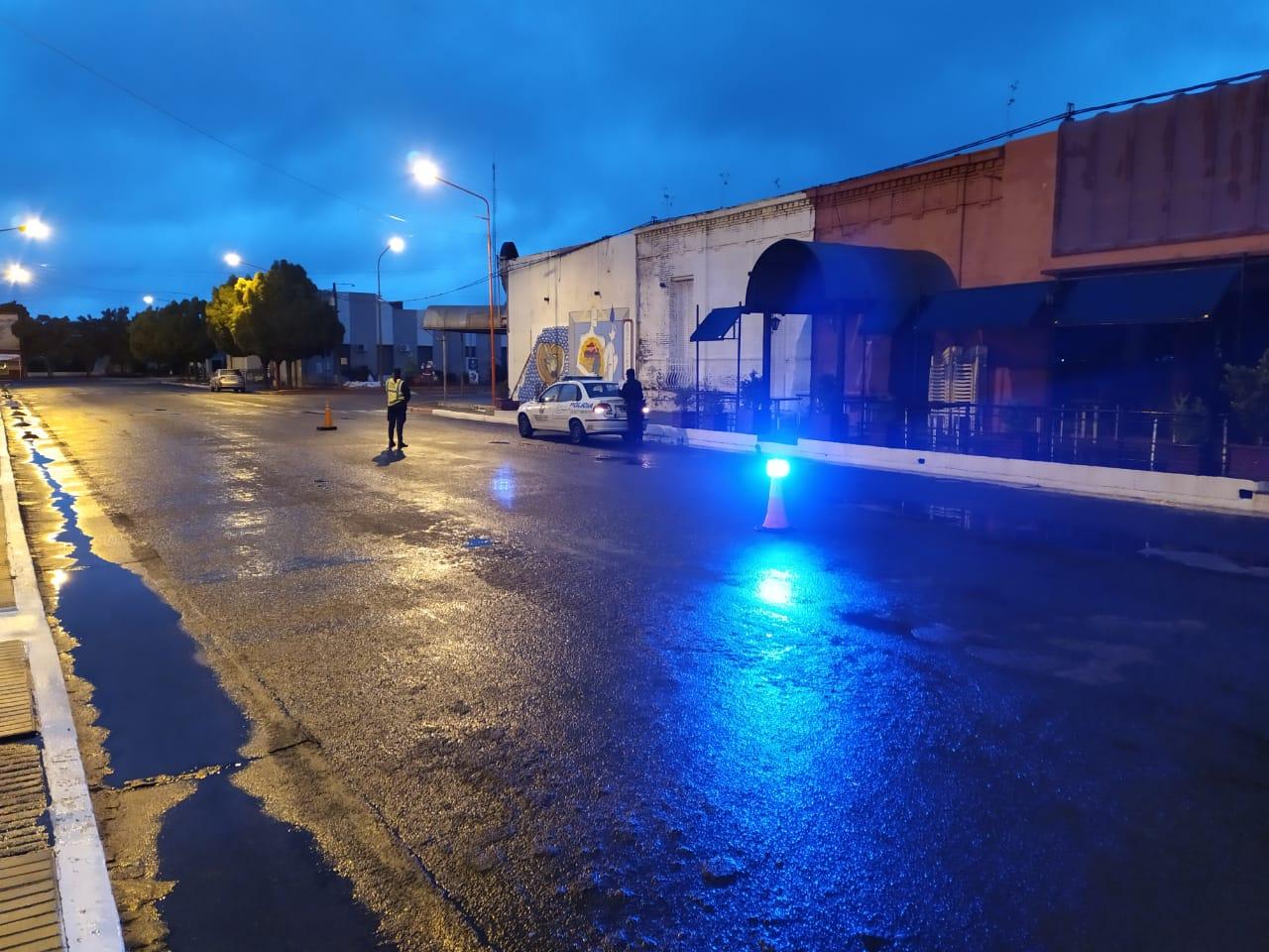 Controles nocturnos en Eduardo Castex: de 12 alcohotest, 5 dieron positivo