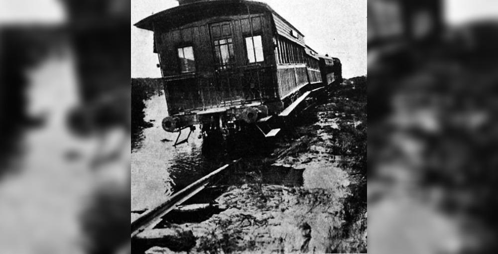 """A 105 años de la """"Crezca Grande"""", el desastre en el que murieron cientos de personas en La Pampa, Mendoza y Río Negro"""