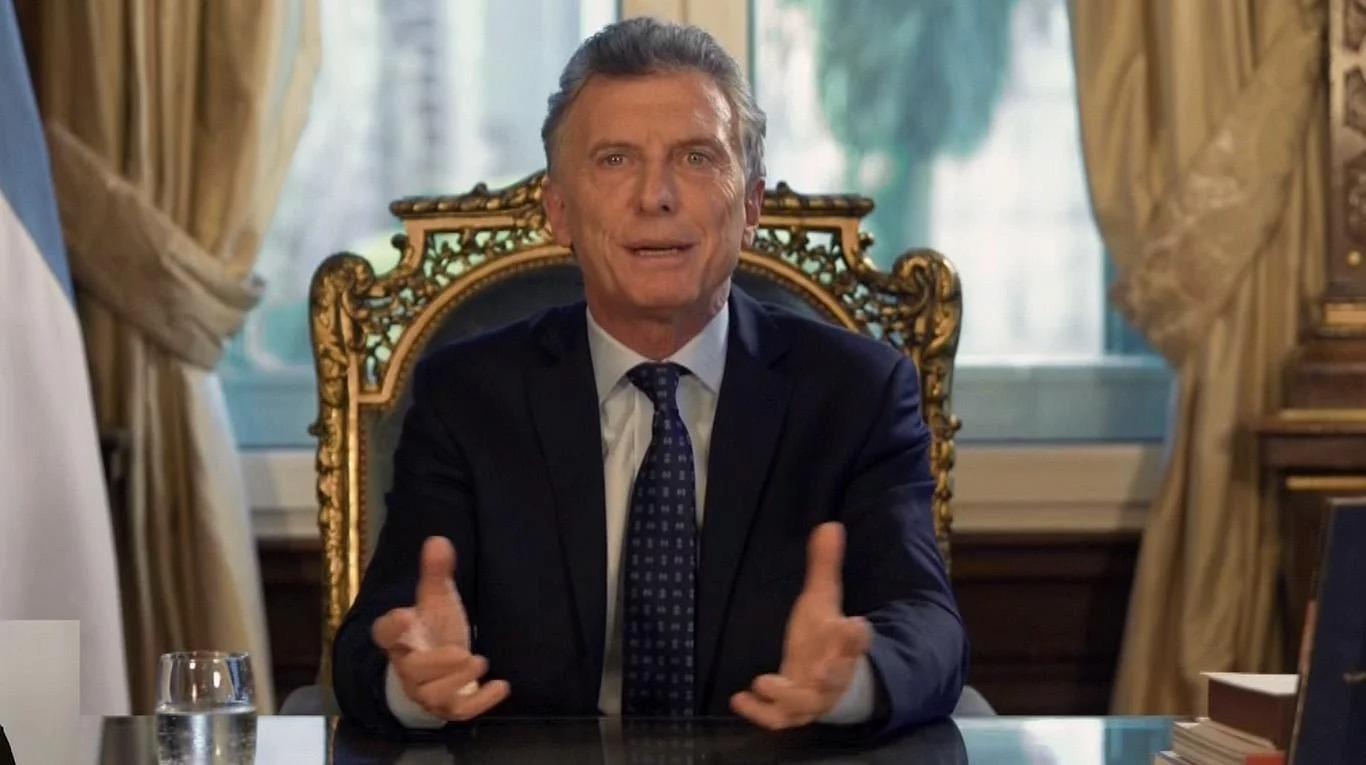 """Mauricio Macri utilizó por primera vez la cadena nacional y realizó un balance de su gestión: """"Empieza una nueva etapa"""""""