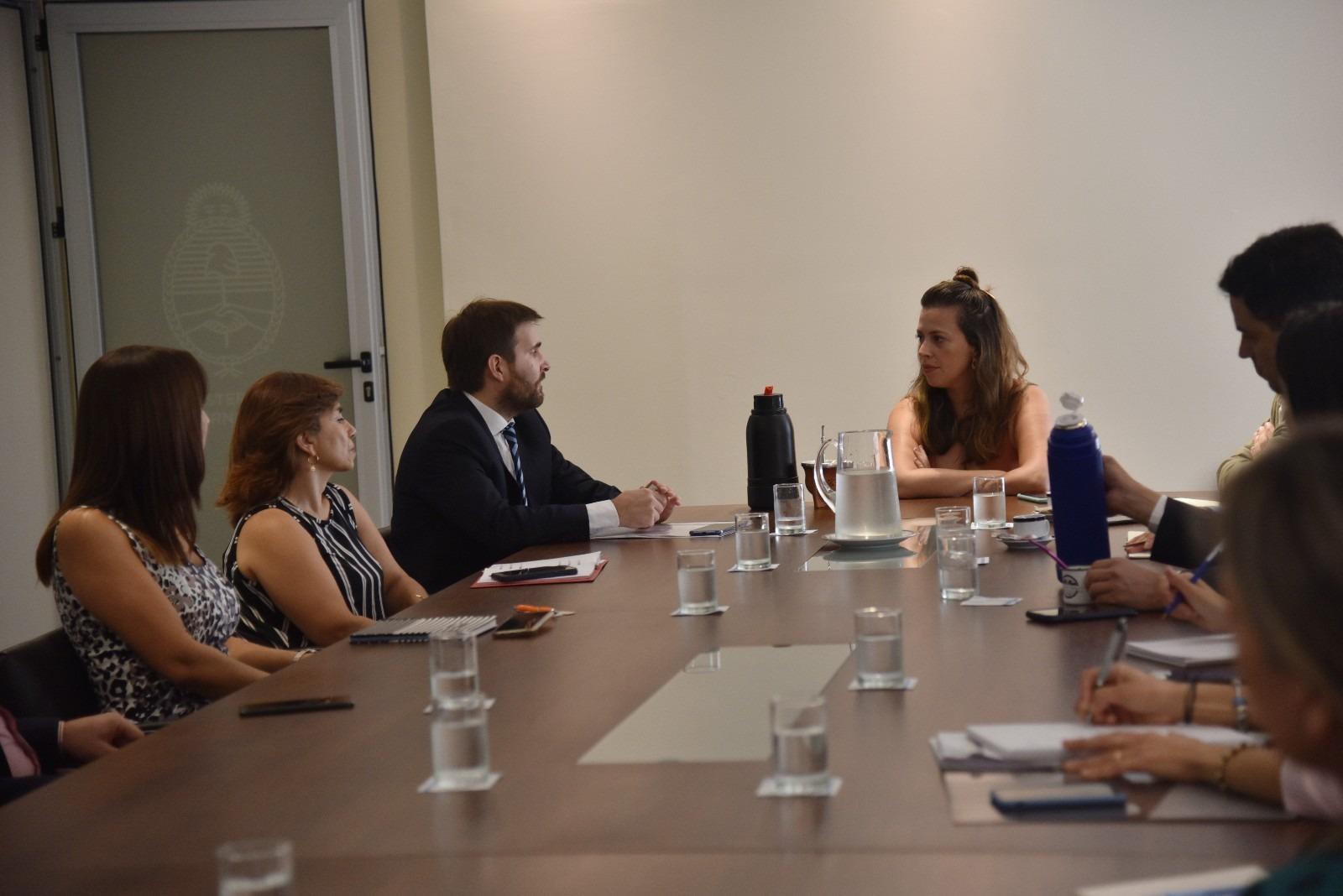 Curciarello se reunió con funcionarios de la Secretaría de Innovación Pública de Nación