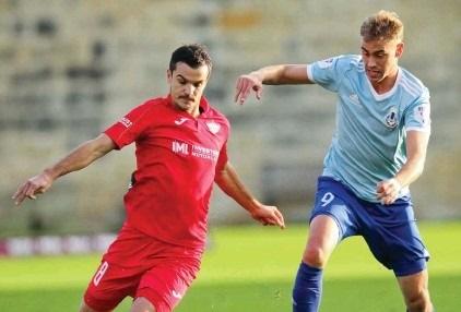 El piquense Federico Vasilchik debutó en Malta