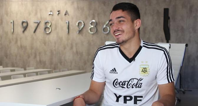 El piquense Matías Palacios se suma a la Selección Argentina Sub 20