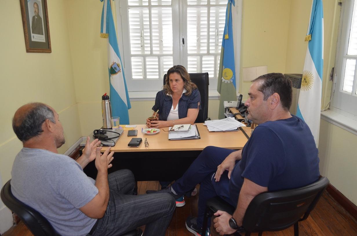 Reunión de trabajo entre la intendenta Alonso y el Subsecretario de Deportes de la provincia