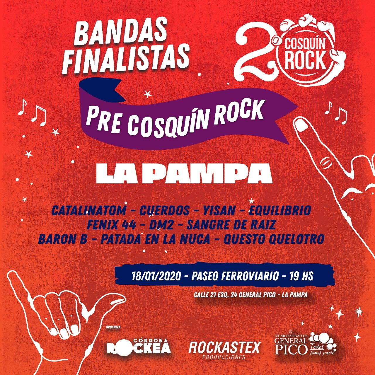 Comienza la cuenta regresiva para el Festival Pre Cosquín Rock