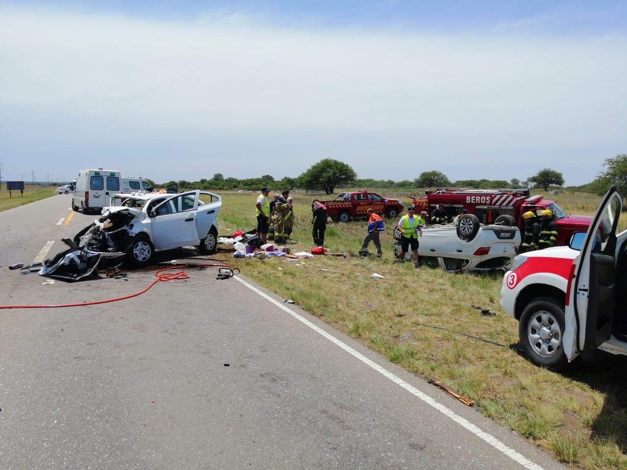 Accidente fatal en Ruta 35 cerca de Parque Luro: Falleció un niño de 8 años