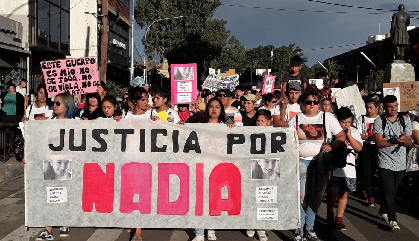 A un mes del intento de femicidio realizan una nueva marcha por Nadia