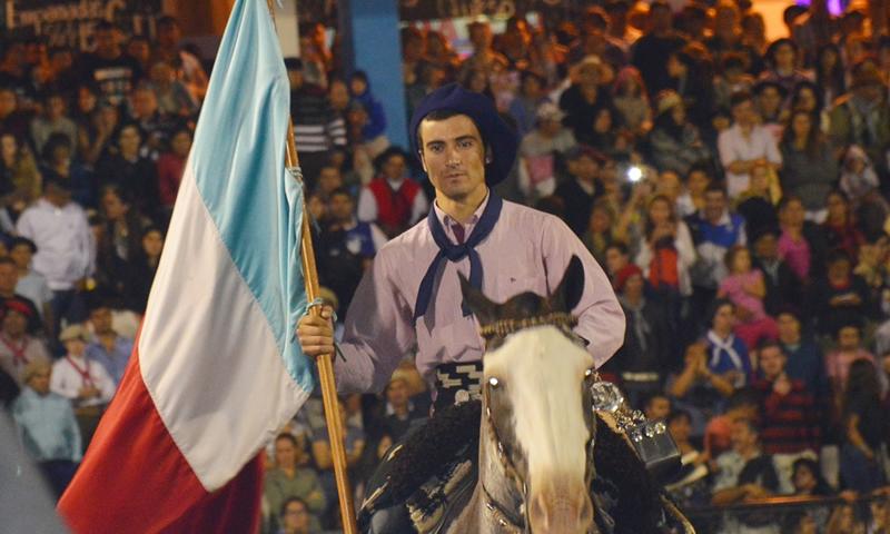 Jesús María: El jinete pampeano, «Tato» Ramos, el mejor; quedó primero en la categoría gurupa sureña
