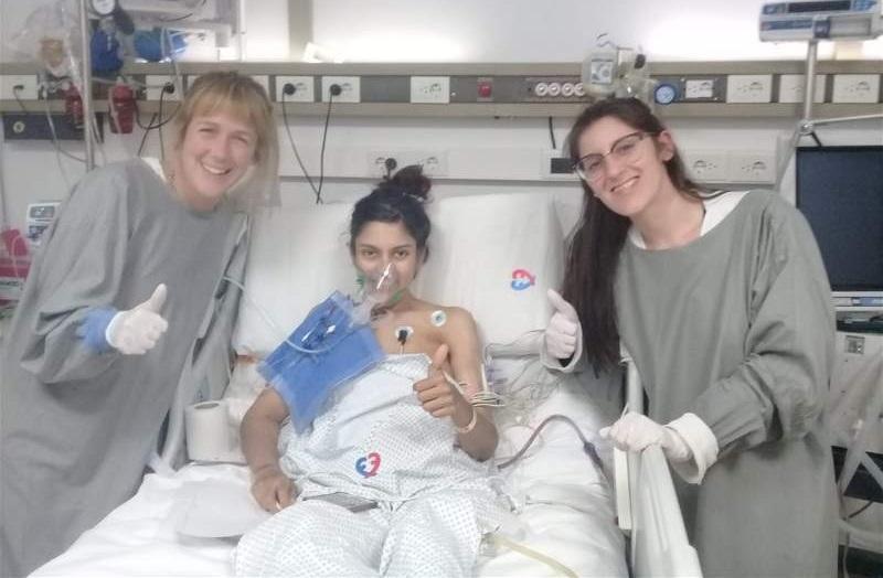 """Se cumplió un mes del trasplante bipulmonar que recibió Nadia Cid: """"No me da más el corazón de alegría, puedo respirar bien"""""""