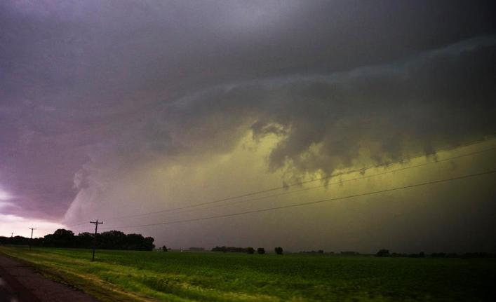 Aviso a corto plazo por tormentas fuertes con ocasional caída de granizo para Curacó, Lihuel Calel y Puelén