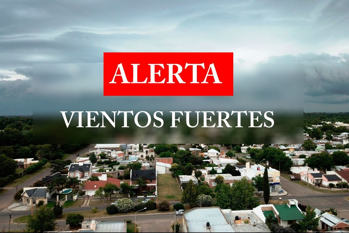 Alerta por «vientos fuertes con ráfagas» para el oeste y noreste de La Pampa