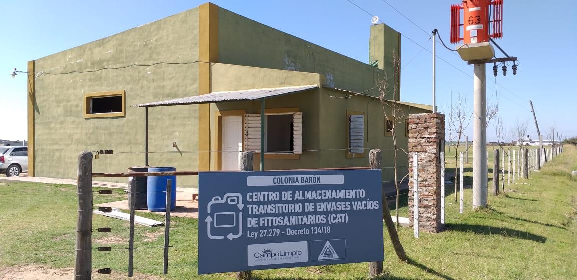 Agroquímicos: El Gobierno inspeccionó las obras y constató que Campo Limpio no finalizó las tareas