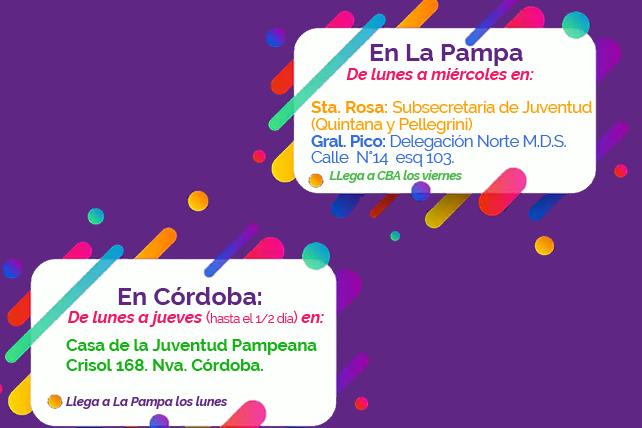 Retoman el servicio de bolsines a Córdoba y Buenos Aires