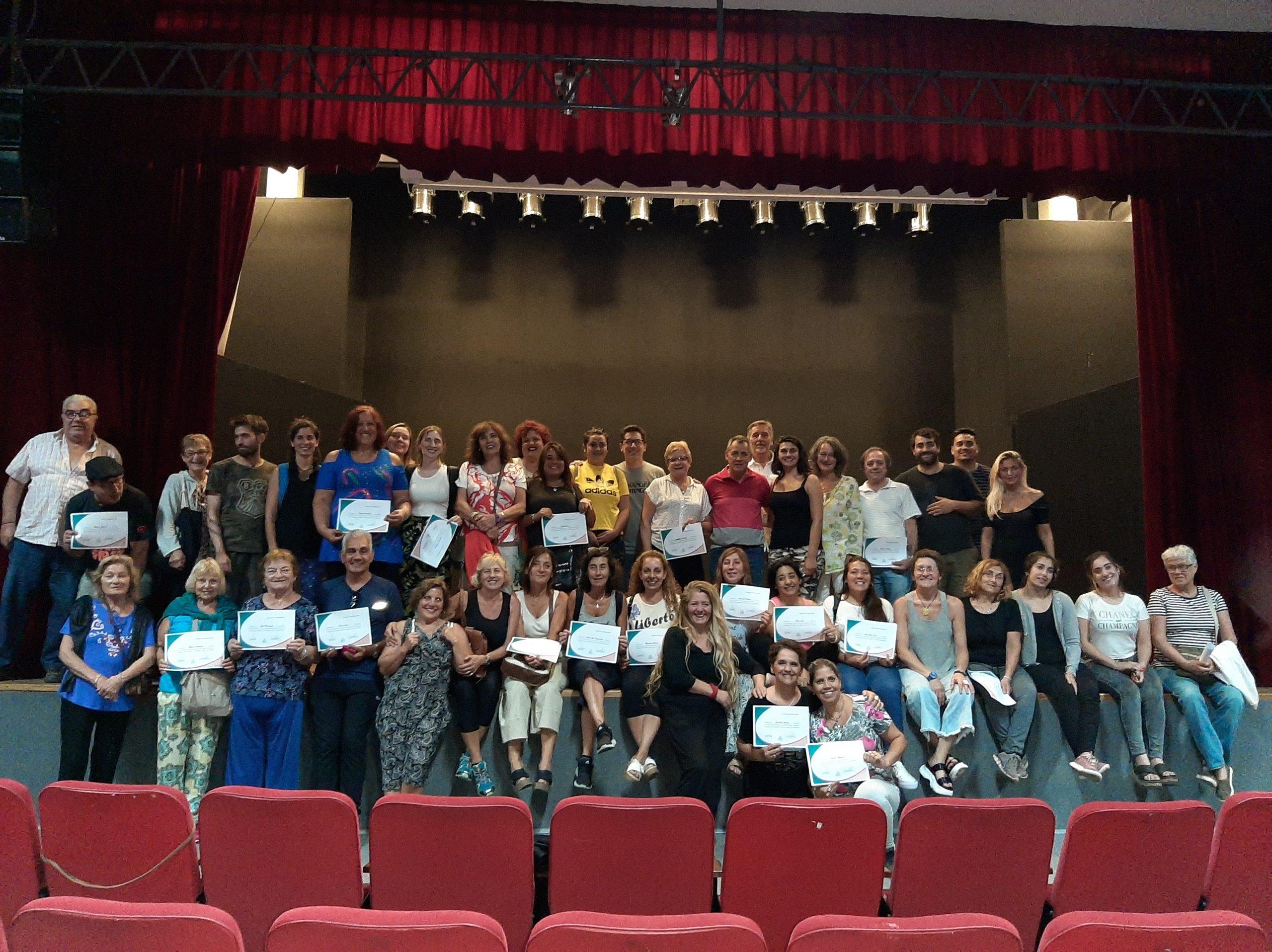 Exitoso seminario de teatro dictado por Nadia Grandón