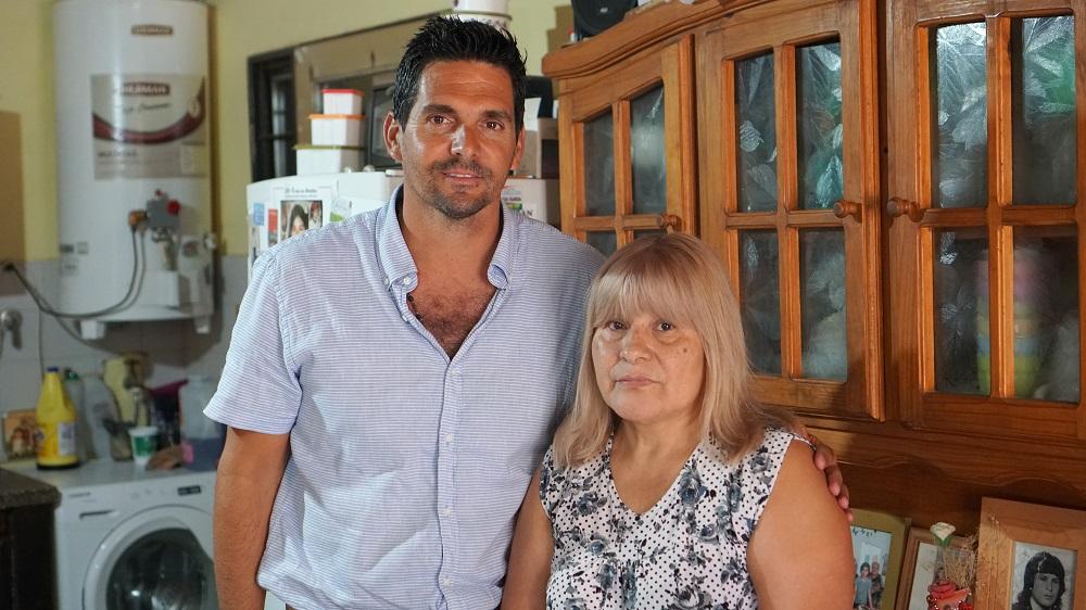 """El subsecretario de Derechos Humanos de La Pampa se reunió con la madre de Andrea López: """"Se ha convertido en un símbolo pampeano de la lucha contra la violencia que sufren las mujeres"""""""