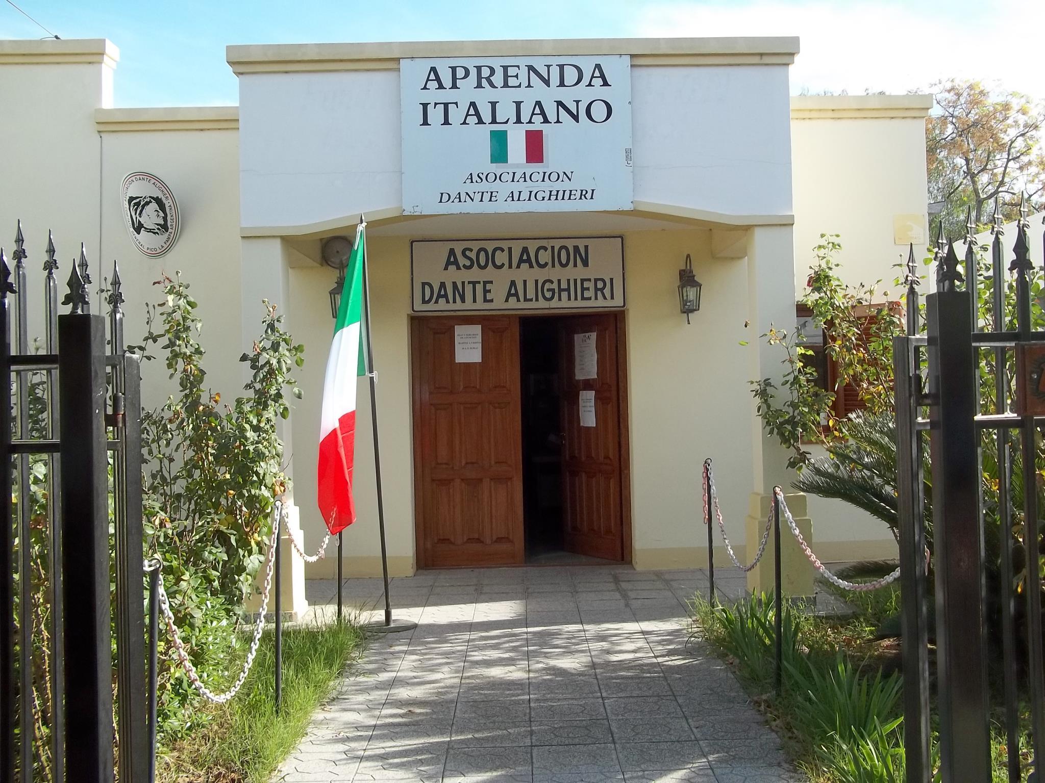 Excelente oportunidad para aprender Italiano, la Dante Alighieri comenzó con las inscripciones en General Pico