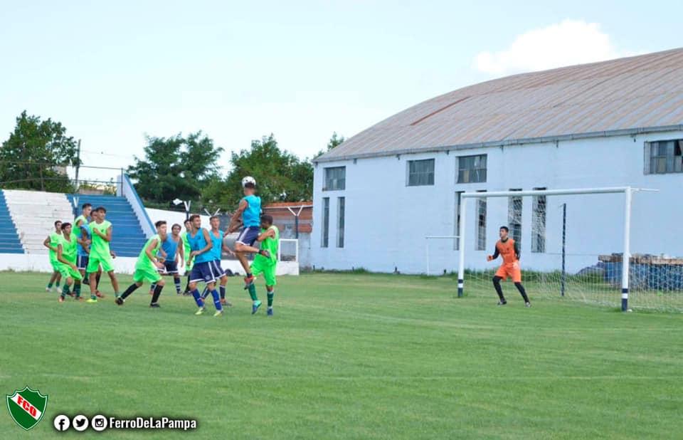 Ferro goleó a Cultural Argentino durante un amistoso de preparación para la Liga Pampeana