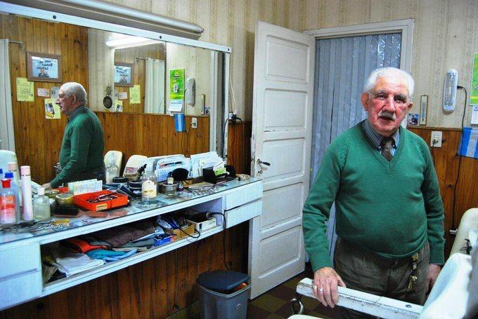 Tristeza por la muerte de Benito Ballesteros, el peluquero más longevo de General Pico