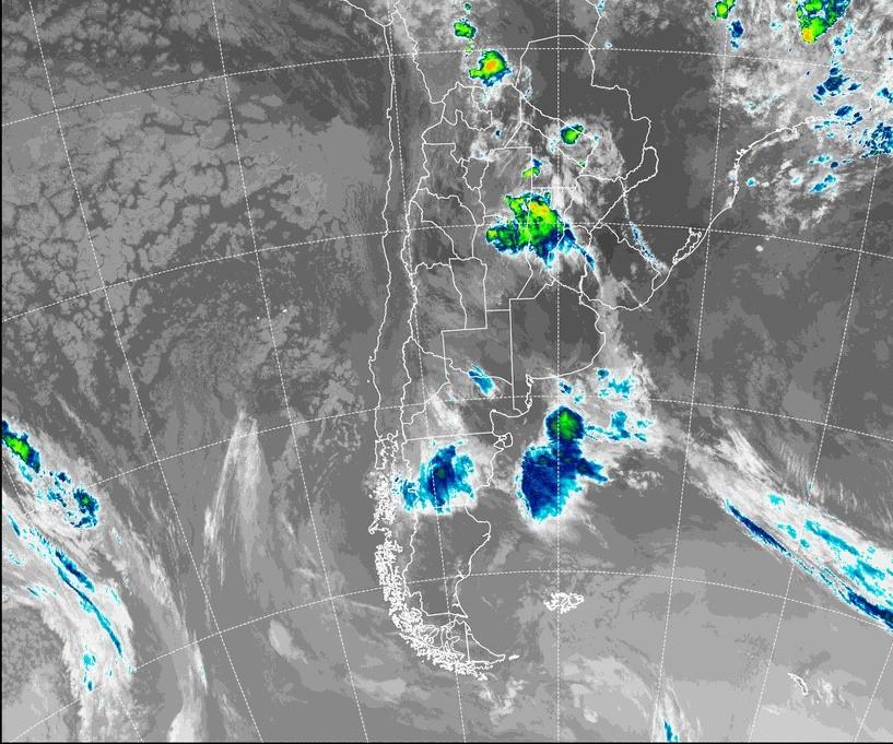 Emiten un Alerta Meteorológico por tormentas fuertes para el sur de La Pampa