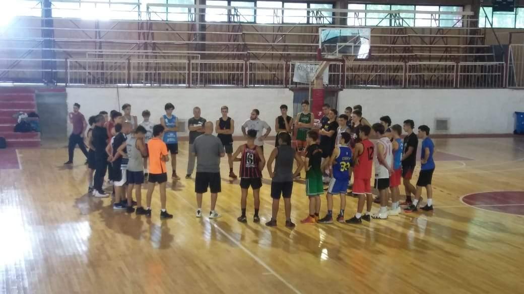 Comenzaron los entrenamientos de la U15 y U17 de Básquet de La Pampa