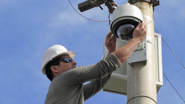 En los próximos días instalarán 40 nuevas cámaras de seguridad públicas en General Pico