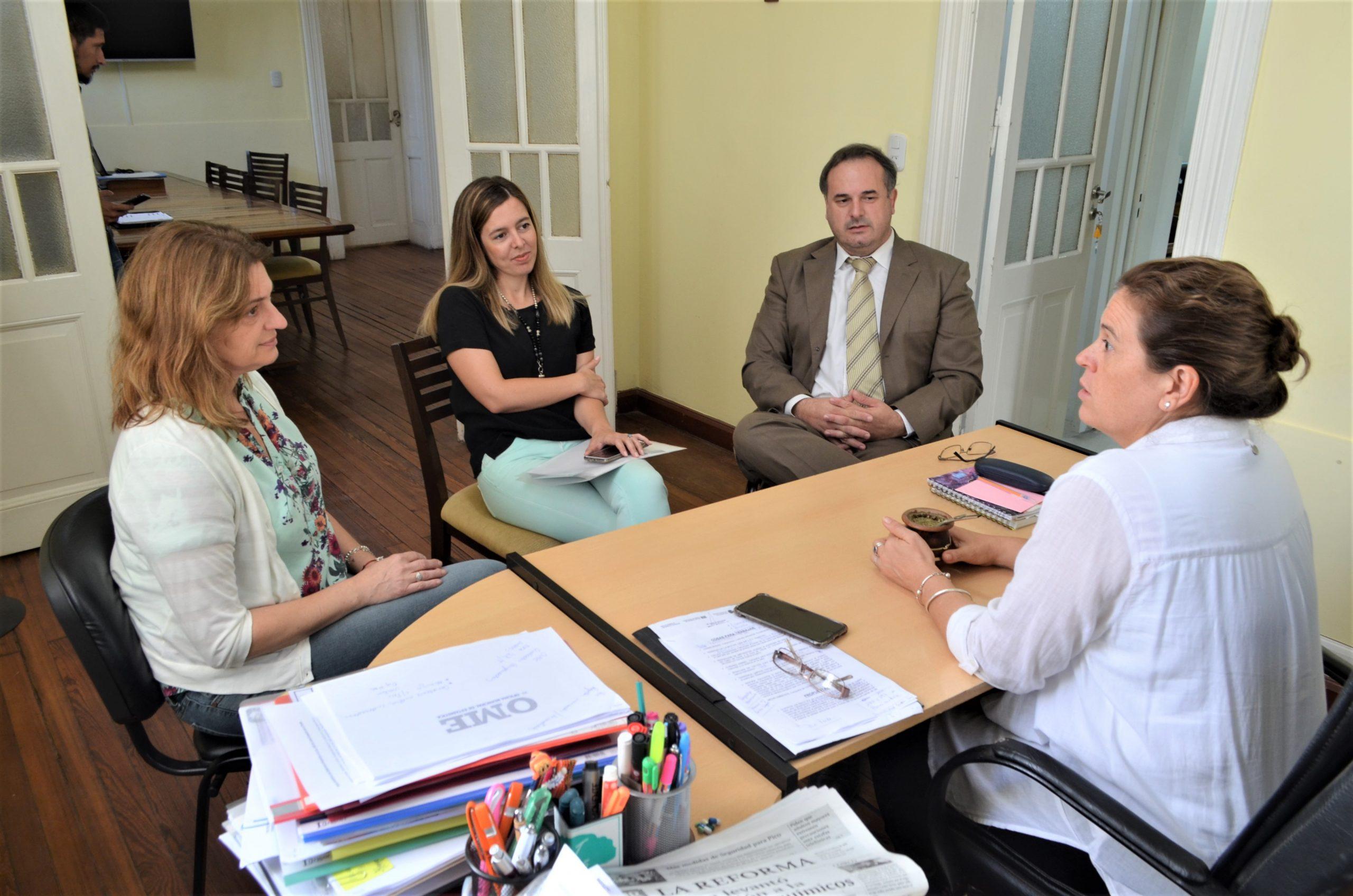 Se reunieron las intendentas de General Pico e Ingeniero Luiggi para trabajar estrategias comunes