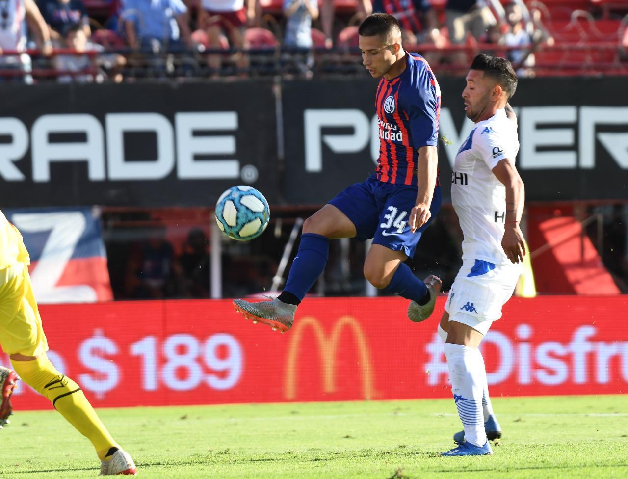 El piquense Julián Palacios hizo su primer gol en la Superliga Argentina