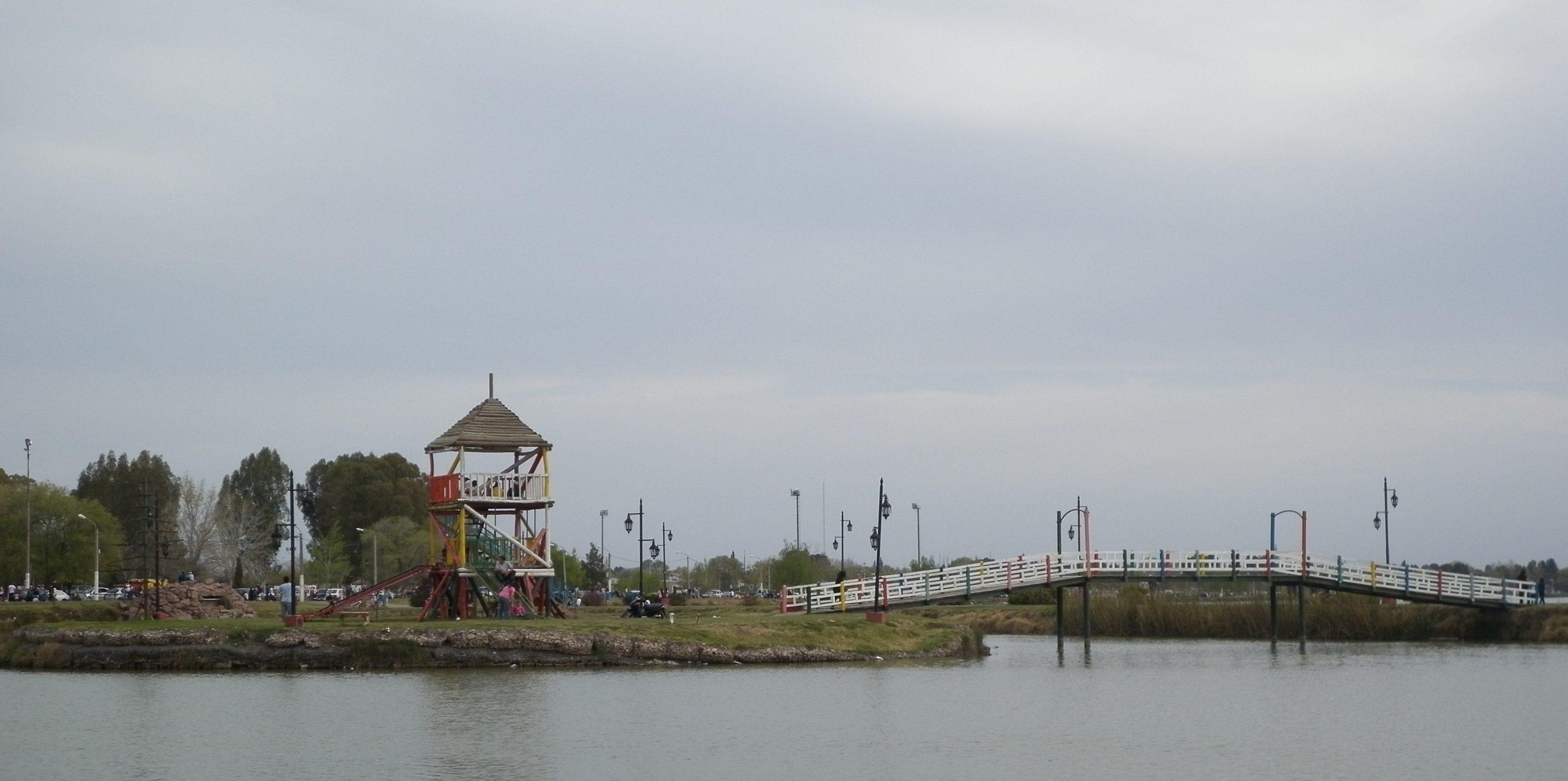 Un joven perdió la vida en la laguna Don Tomás de Santa Rosa