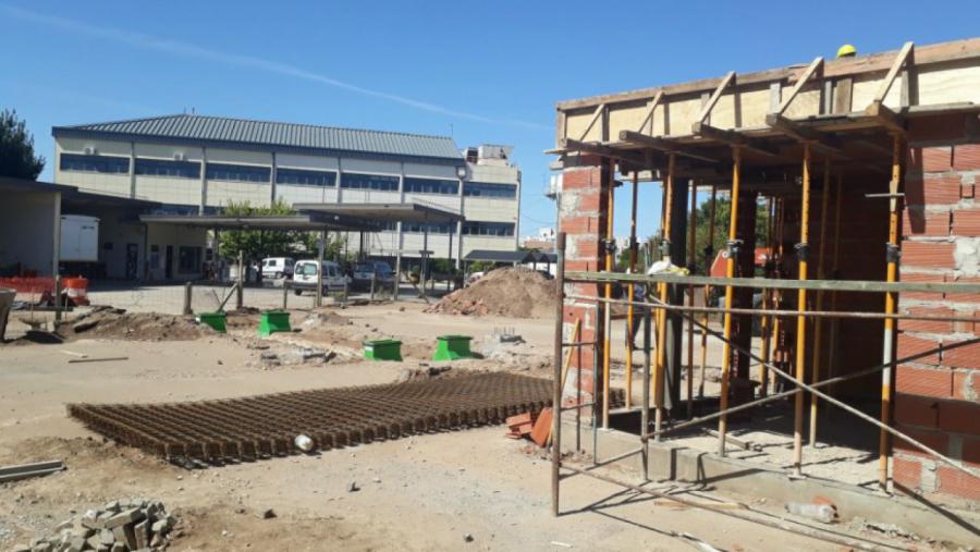 Se encuentra en pleno desarrollo la obra de la nueva estación de servicio para Vialidad Provincial