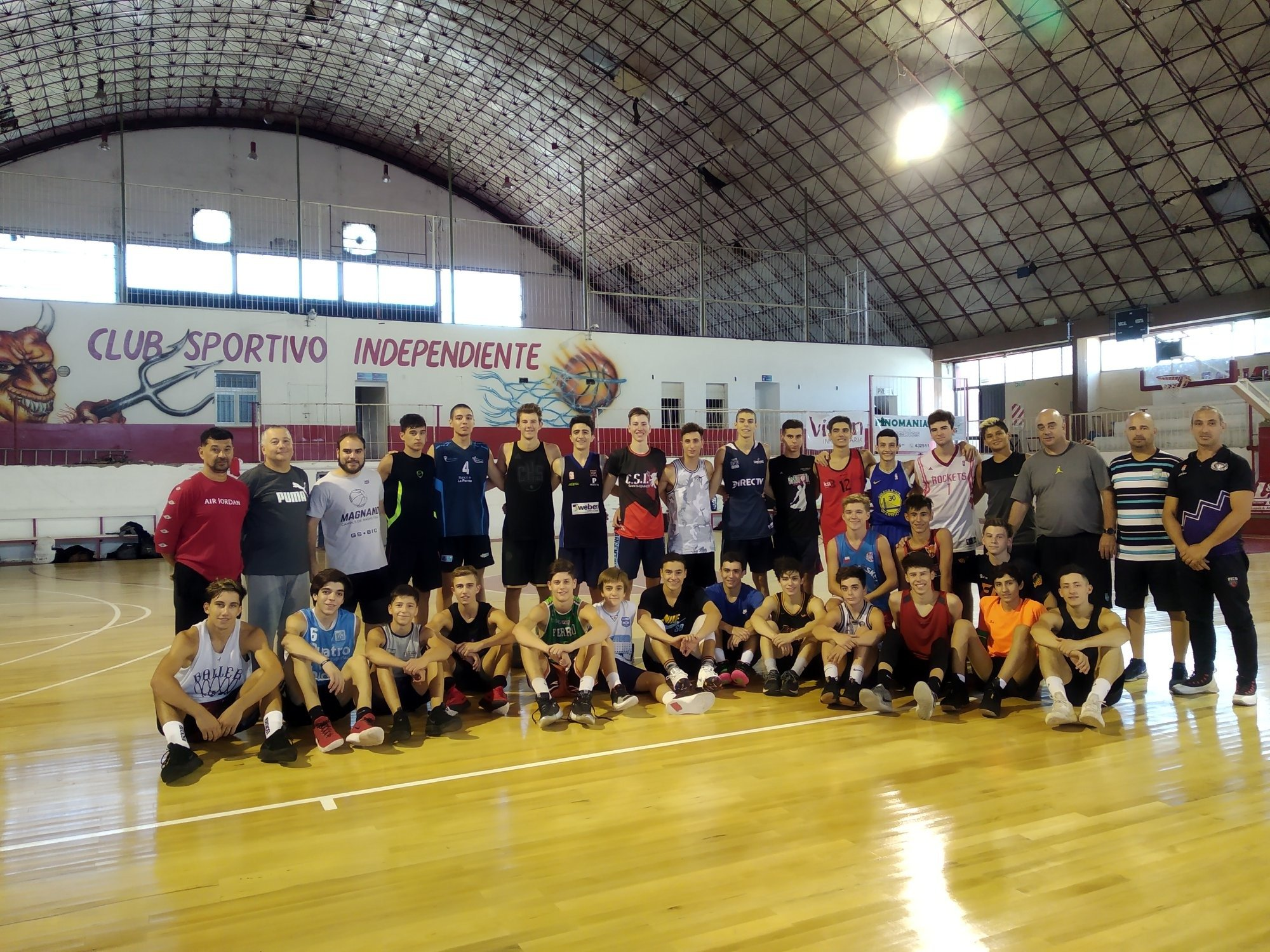 Comienza a trabajar el preseleccionado de básquet con miras a las competencias nacionales