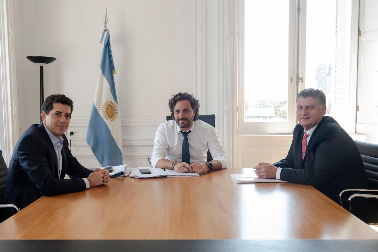 Ziliotto visitó Casa Rosada: pidió analizar el impacto de Portezuelo y solicitó el avance de la alianza entre YPF y Pampetrol