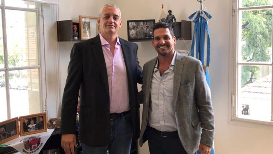 El subsecretario de Derechos Humanos pampeano se reunió con su par de Nación Horacio Pietragalla