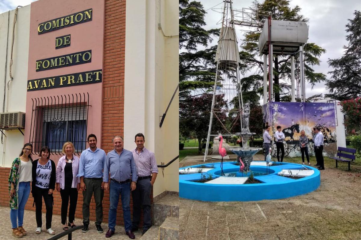 El Tribunal de Cuentas de La Pampa realizó visitas de trabajo a tres Comisiones de Fomento