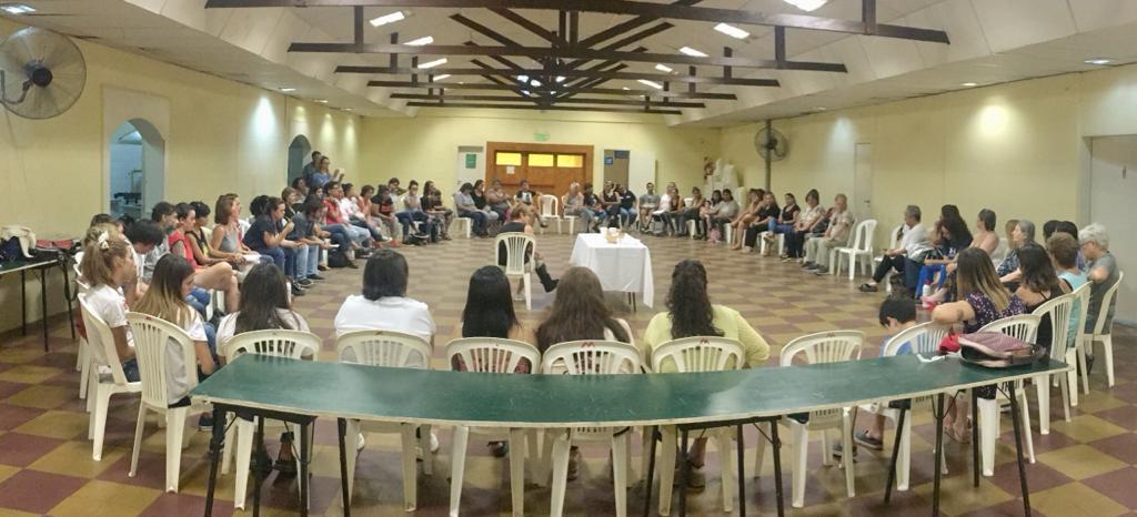 Importante reunión de organizaciones con perspectiva de género en barrio El Molino