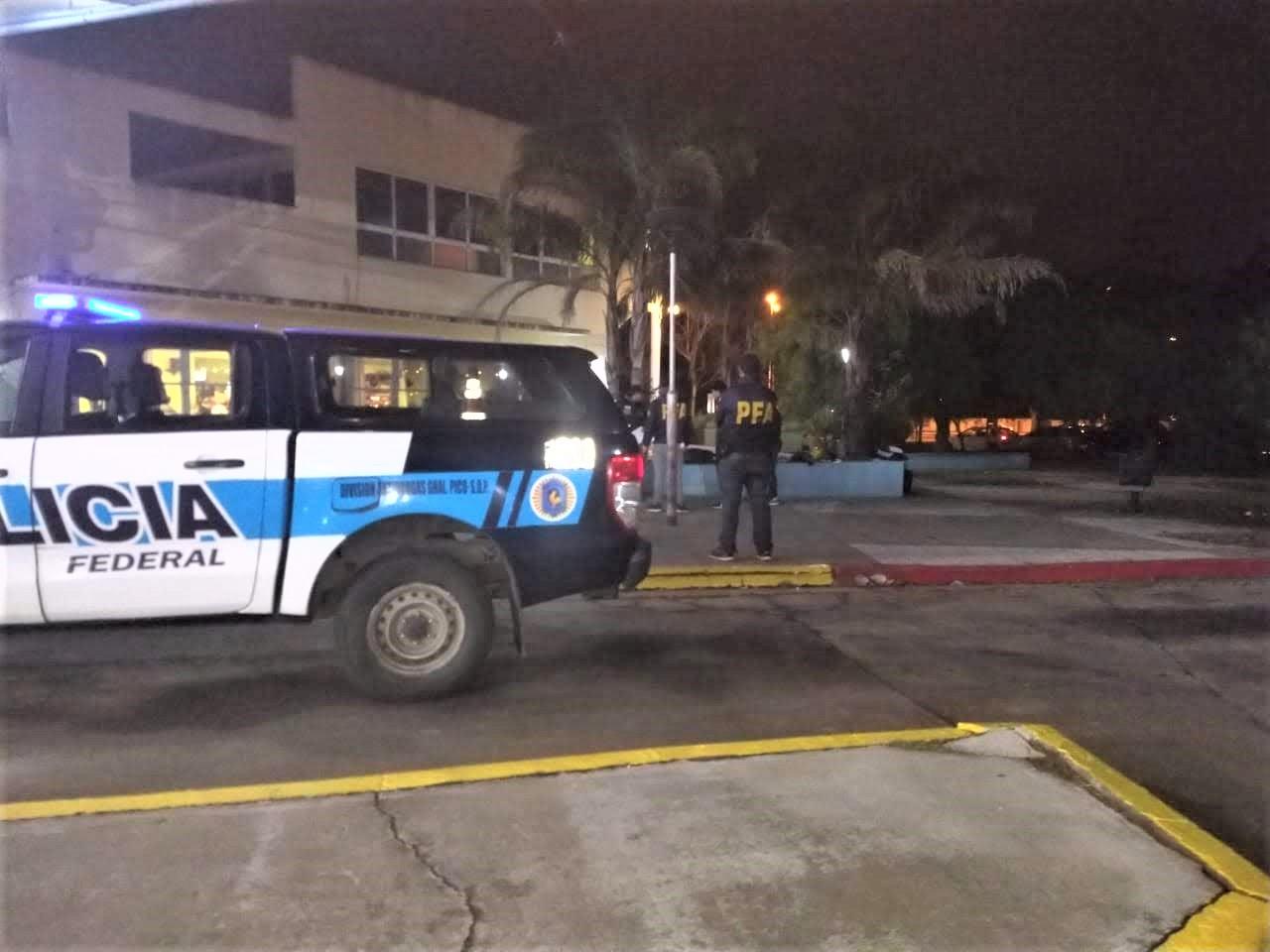 Preso con salida transitoria del Correccional Abierto de General Pico fue atrapado con droga en la terminal