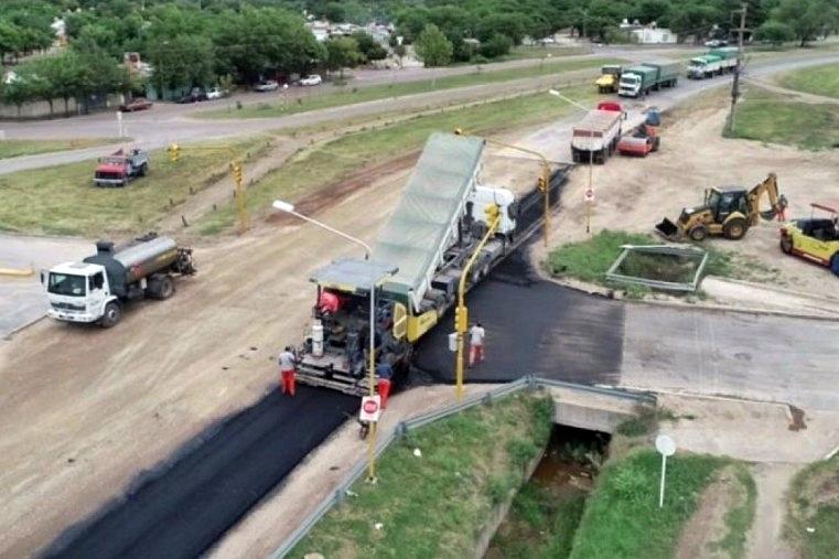 """Plan 300 cuadras de asfalto"": El municipio proyecta recaudar 5.000.000 de pesos por mes"