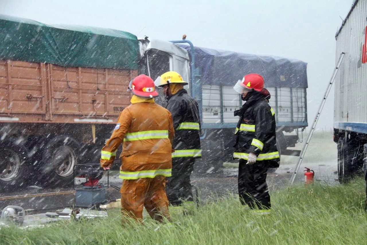"""Accidente fatal: """"Los dos camiones trabajaban para la misma empresa"""", dijo el fiscal Komarofky"""