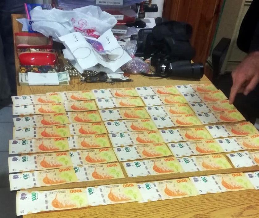 Robo a productor rural en Rucanelo:  La policía recuperó todo el dinero y las joyas