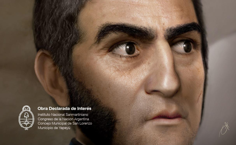 Un día como hoy, pero del año 1778, nacía el General San Martín