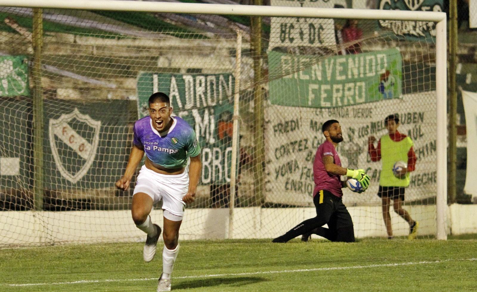 """Torneo Federal """"A"""": Ferro obtuvo una gran victoria frente a Deportivo Madryn en el """"Coloso"""" de barrio Talleres"""