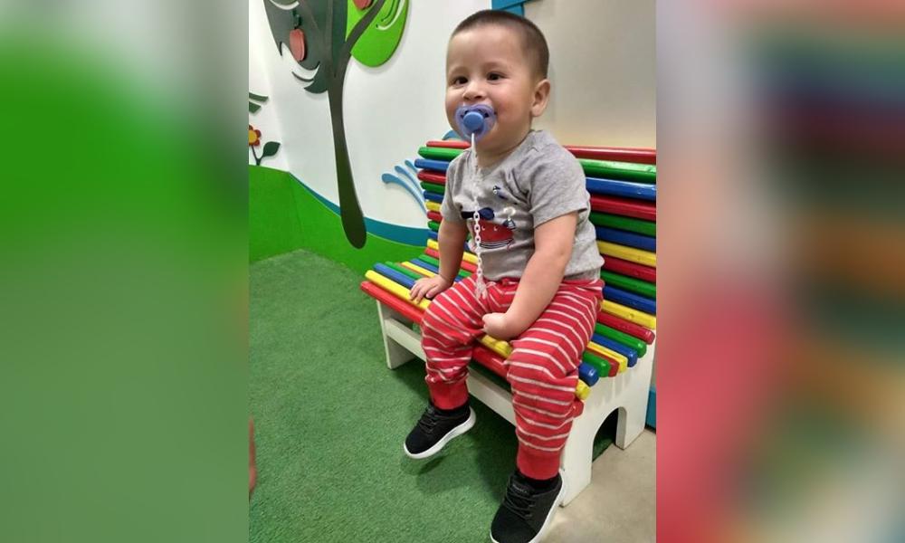 Simón tiene dos años, padece hidrocefalia no evolutiva y retraso madurativo, se encuentra en Santa Rosa y necesita la ayuda de todos