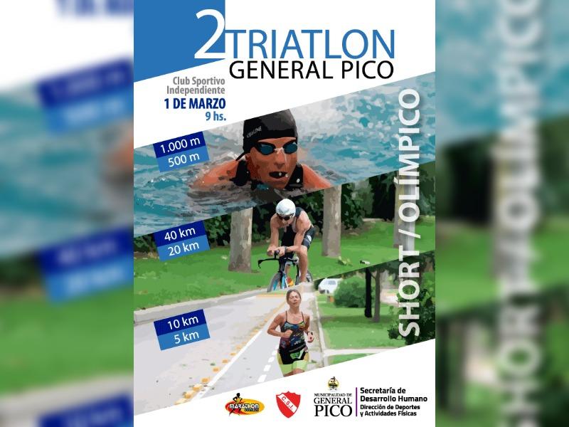 La Municipalidad y el Club Spotivo Independiente organizan un Triatlón para General Pico
