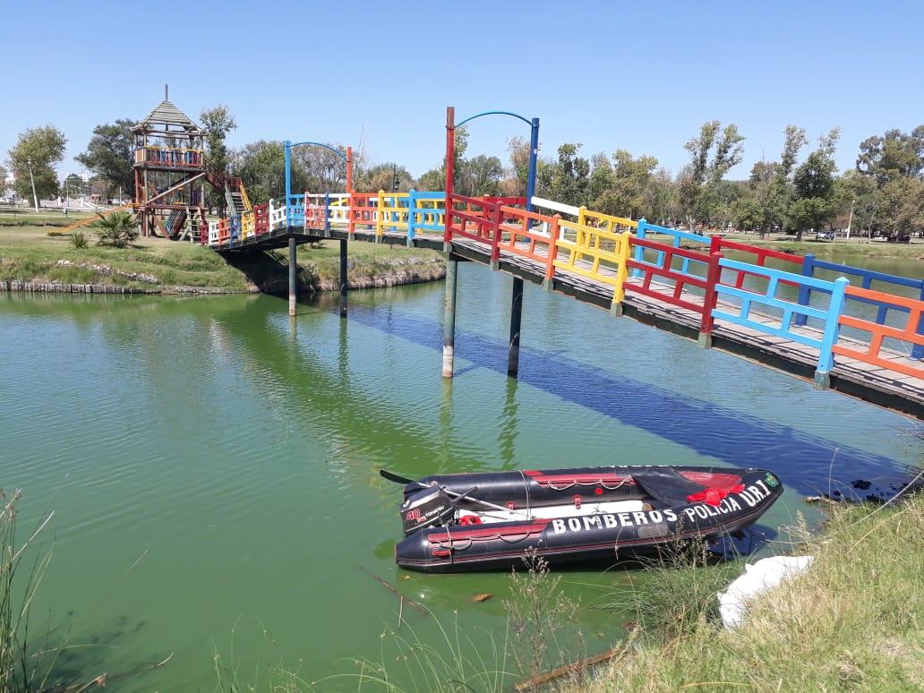 Tragedia en la Laguna Don Tomás: Dieron a conocer el nombre del joven que se ahogó