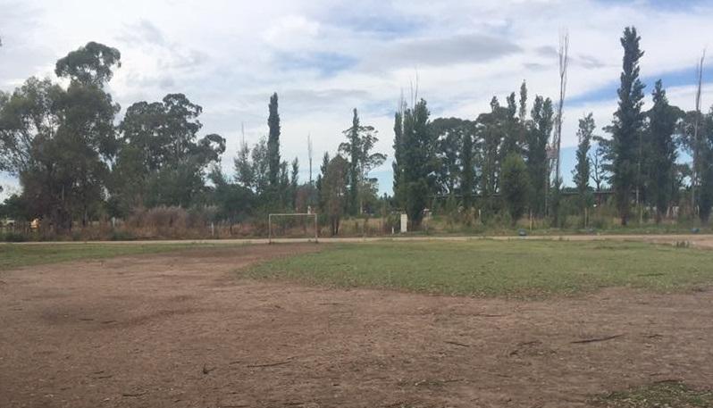 """Nuevos destrozos y robos en el predio de Deportivo Federal: """"Necesitamos que la gente lo vea, están rompiendo nuestro esfuerzo de cada día"""""""
