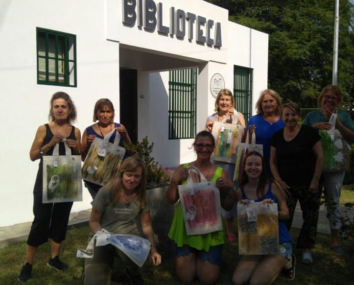 Seminario textil Tote Bag en Intendente Alvear