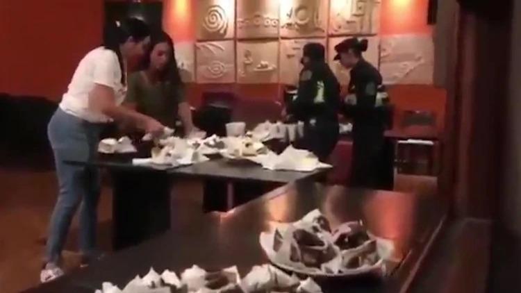 Coronavirus: en medio de la cuarentena, una confitería de Salta regala desayunos a policías en agradecimiento por su trabajo