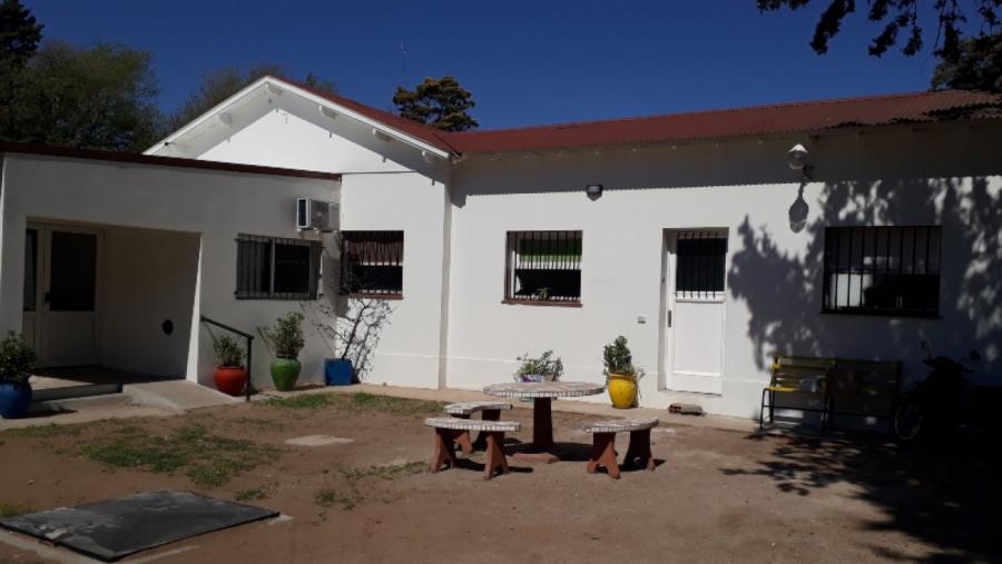 Concluyó la obra de refacción en el área de Salud Mental del Hospital Gobernador Centeno