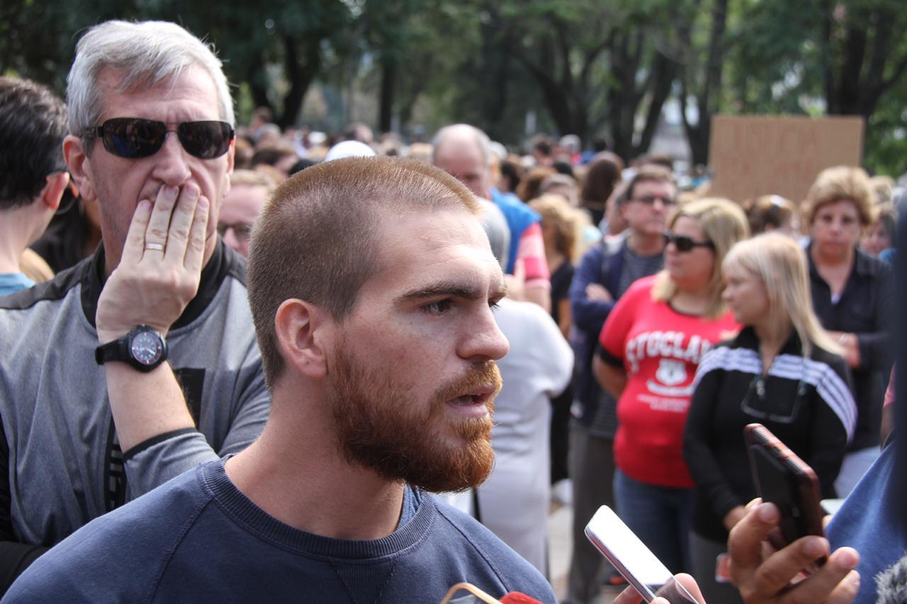 """""""No pedimos venganza, los amamos y los perdonamos"""", dijo Franco Samuel, hijo del odontólogo asesinado en relación a los homicidas"""
